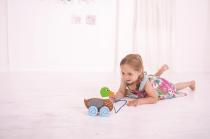 Dřevěné hračky Bigjigs Baby Tahací kačenka Bigjigs Toys